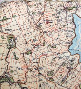Hereweka Map 1922