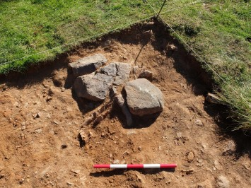 Excavation detail